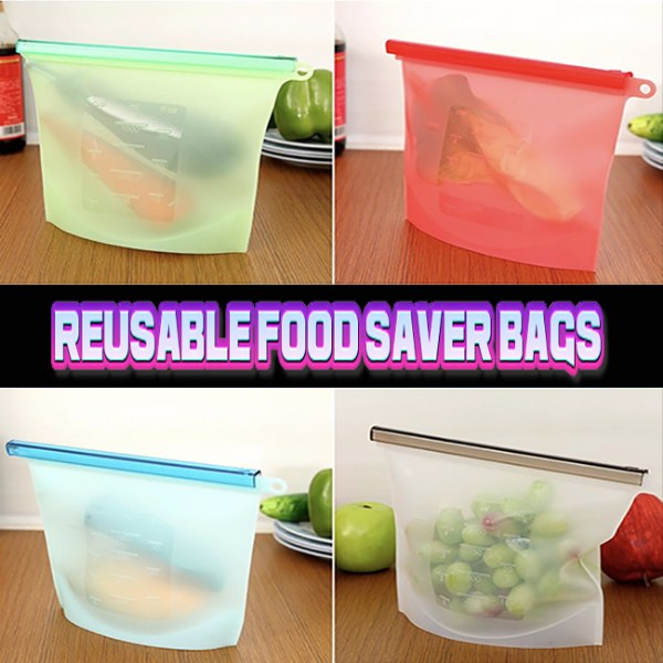 Reusable Food Saver Bags