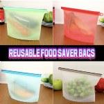 Reusable Food Saver Bags