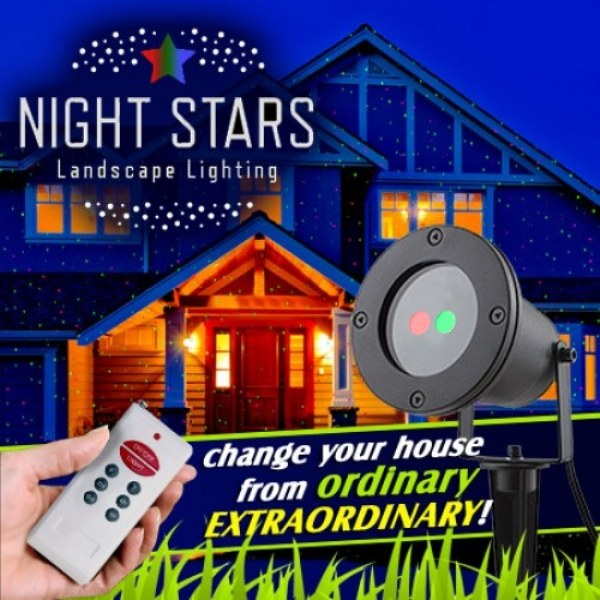 Night Stars Landscape Lights