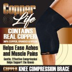 Copper Life Compression Knee Brace