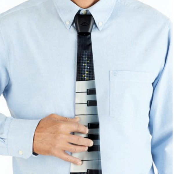 Electronic Keyboard Neck Tie