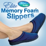Comfort Pedic Memory Foam Slippers