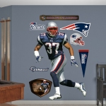 Rodney Harrison Life Sized Wall Decal