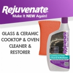 Rejuvenate Glass & Ceramic Cooktop & Oven Cleaner