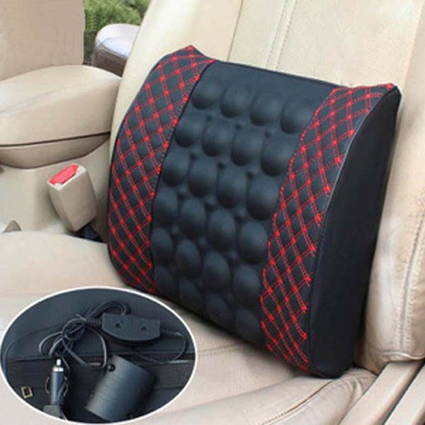 12V Travel Lumbar Massage Cushion