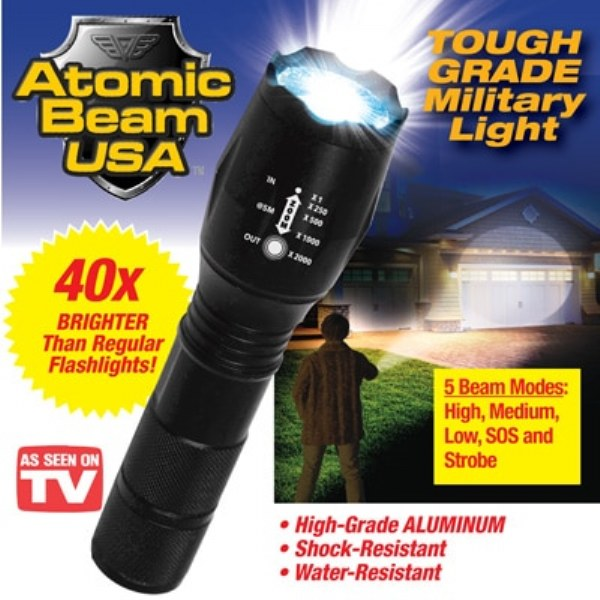 Atomic Beam Flashlight As Seen On Tv