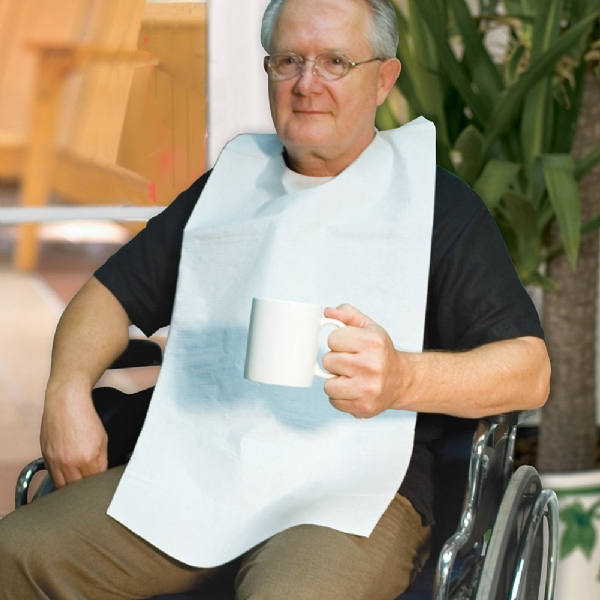 Disposable Adult Bibs