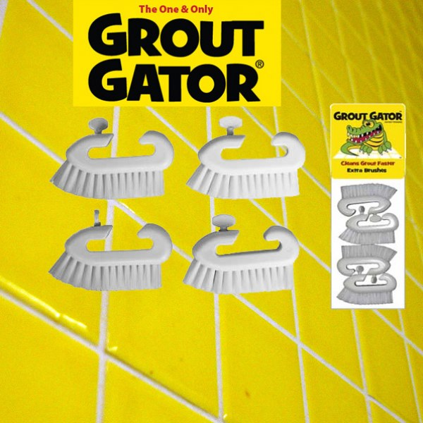 Grout Gator Extra Brushes