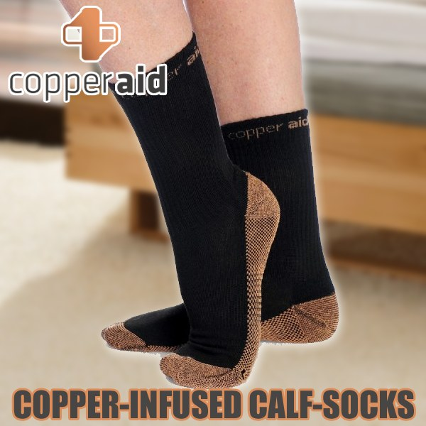 Copper Aid Calf Socks