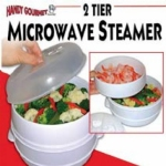 2 Tier Microwave Steamer