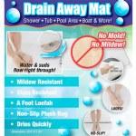 Drain Away Mat