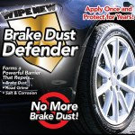 Wipe New Brake Dust Defender