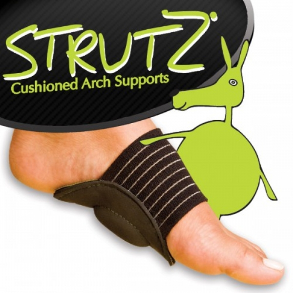 eb5ed08ccb Strutz Cushioned Arch Supports | As Seen On TV