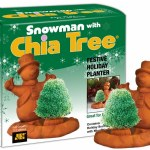 Snowman with Chia Tree