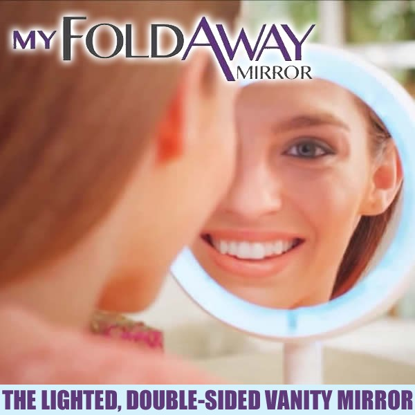 My Fold Away Mirror As Seen On Tv
