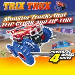 Trix Trux Monster Truck Set