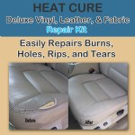 Heat Cure Deluxe Vinyl Leather and Fabric Kit