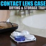 Contact Lens Case Drying & Storage Tray