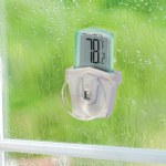 Digital Outdoor Window Thermometer