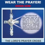 The Lords Prayer Cross