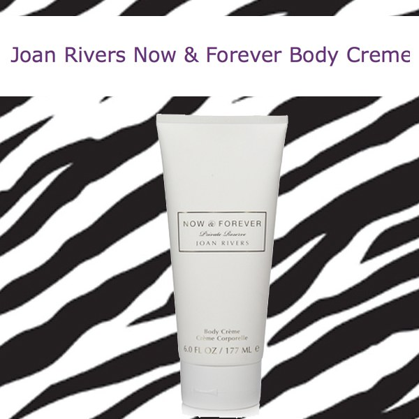 Joan Rivers Now and Forever Body Creme