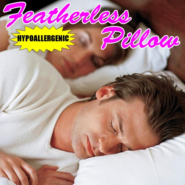 Featherless Hypoallergenic Pillow