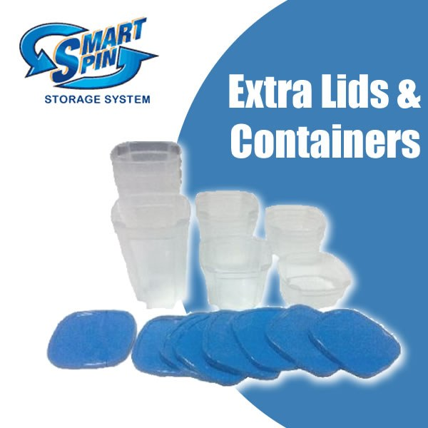 Smart Spin - Set of Extra Containers