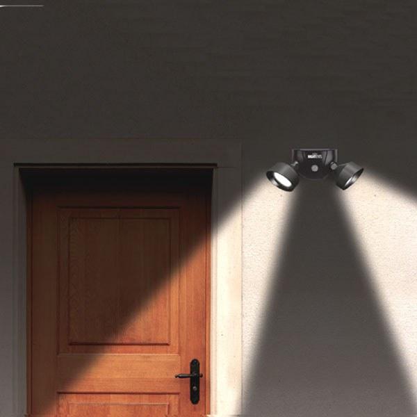 Solar Night Eyes Security Light With Alarm As Seen On Tv