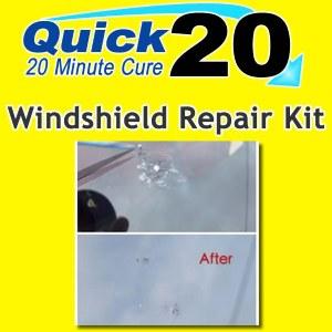 Quick 20 Windshield Repair Kit