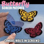 Butterfly Screen Patches