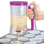 Batter Dispenser with Squeeze Handle