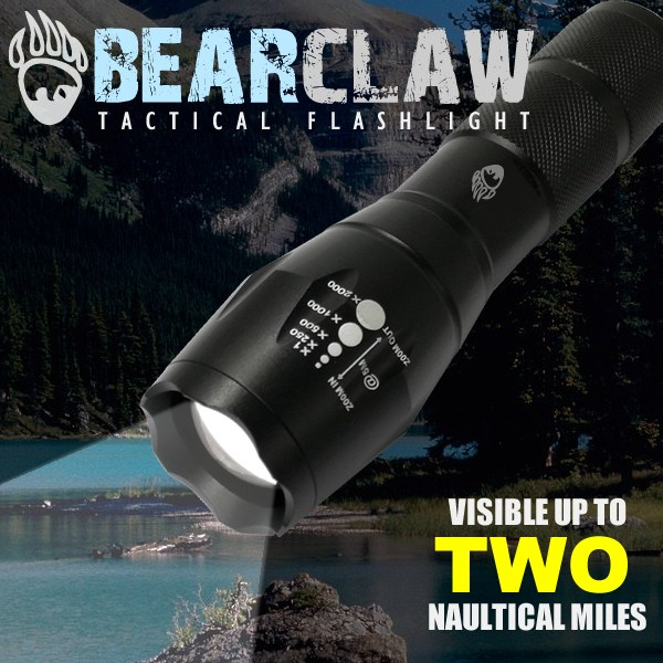 Bearclaw Tactical Flashlight