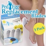 PedEgg Replacement Blades