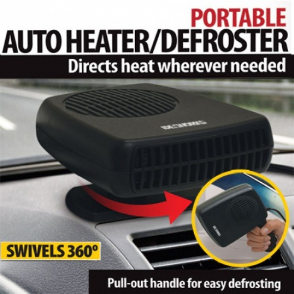 Portable Auto Heater and Defroster