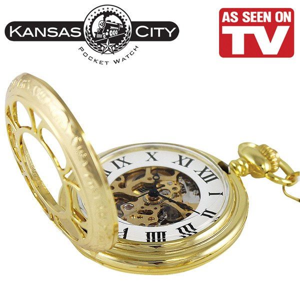 Kansas CIty Pocket Watch