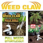 Weed Claw and Bulb Drill