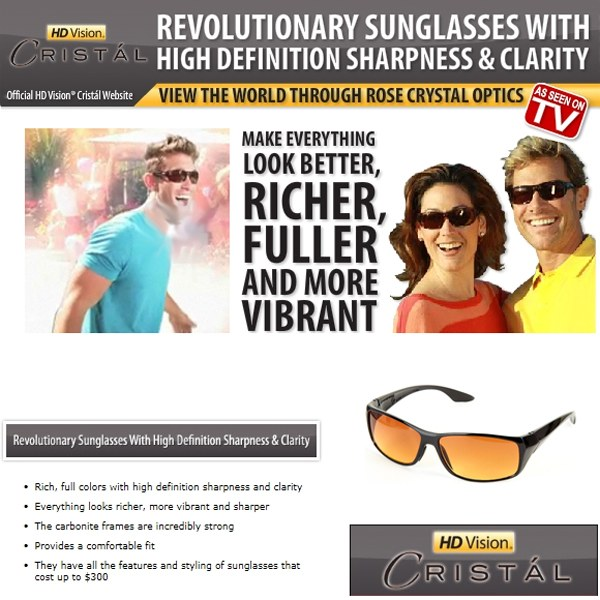 HD Vision Cristal Sunglasses