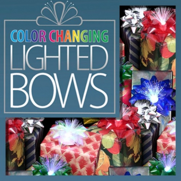 Color Changing Lighted Bows