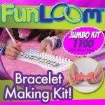 Fun Loom Bracelet Making Kit and Refill Bands