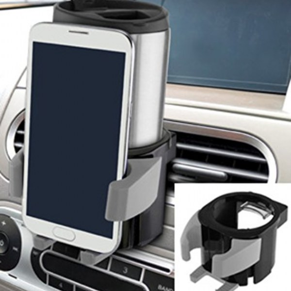 Auto Vent Cup and Phone Holder