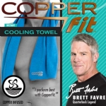 Copper Fit Cooling Towel