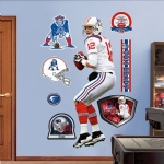 Tom Brady AFL Jersey Wall Decal