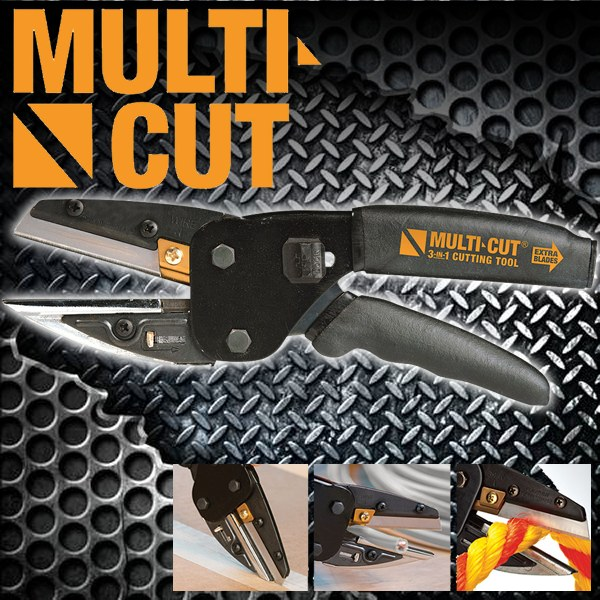 Multi-Cut 3-in-1 Cutting Tool