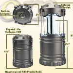 Cob Led Collapsible Lantern