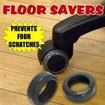 Caster Tire Floor Savers