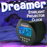 Dreamer Starlight Projector Clock