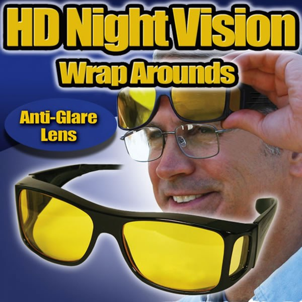 HD Night Vision Wraparounds