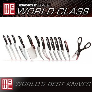 Miracle Blade World Class Series 13 Piece Knife Set