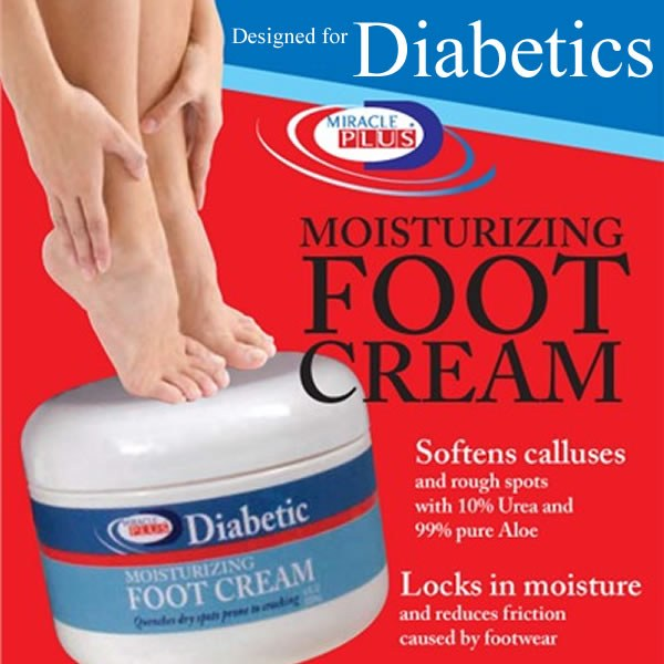 Miracle Plus Moisturizing Foot Cream