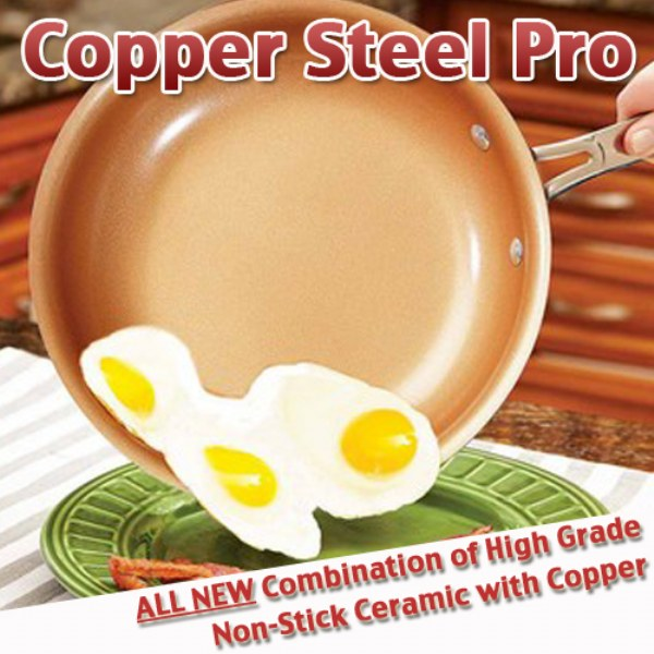 Copper Steel Pro Pan
